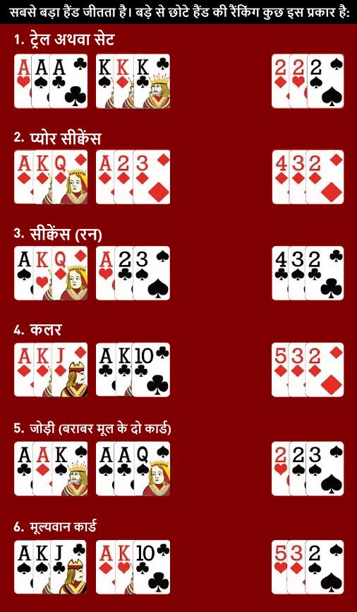 तीन पत्ती | असली राशि में खेलने के लिए एक सम्पूर्ण गाइड - TeenPatti Hindi
