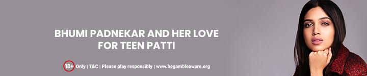 B-Town Trendsetter Bhumi Pednekar and Her Love for Teen Patti